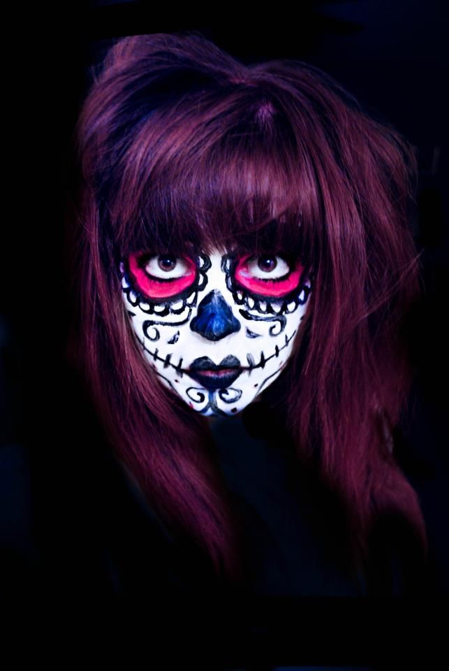 mexican day of the dead face paint design - Halloween Day Of The Dead Face Paint