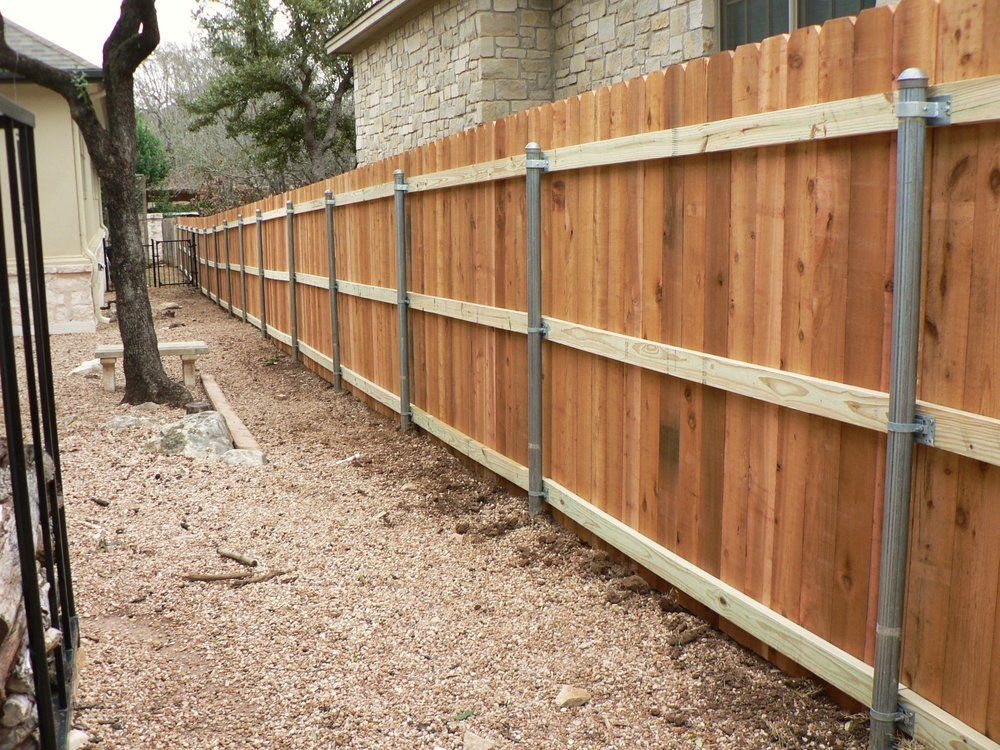 Gary Burton Fence Replacement Repair Photos Wood Fence Design Steel Fence Posts Wood Fence