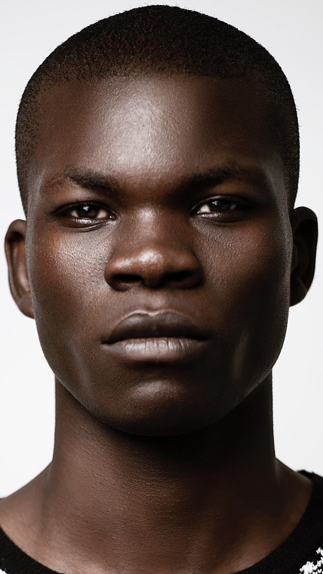 Best Portrait Black Model Male 2017 Top Male Models Black Models Black Male Models
