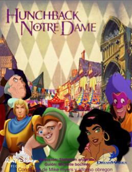 Portada para Pelicula de Disney The Hunchback Notre Dame