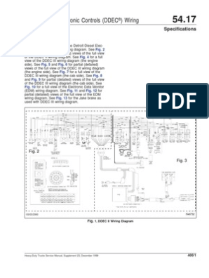 ddec ii wiring diagram ddec ii and iii wiring diagrams  con im  genes  conectores  ddec ii and iii wiring diagrams  con