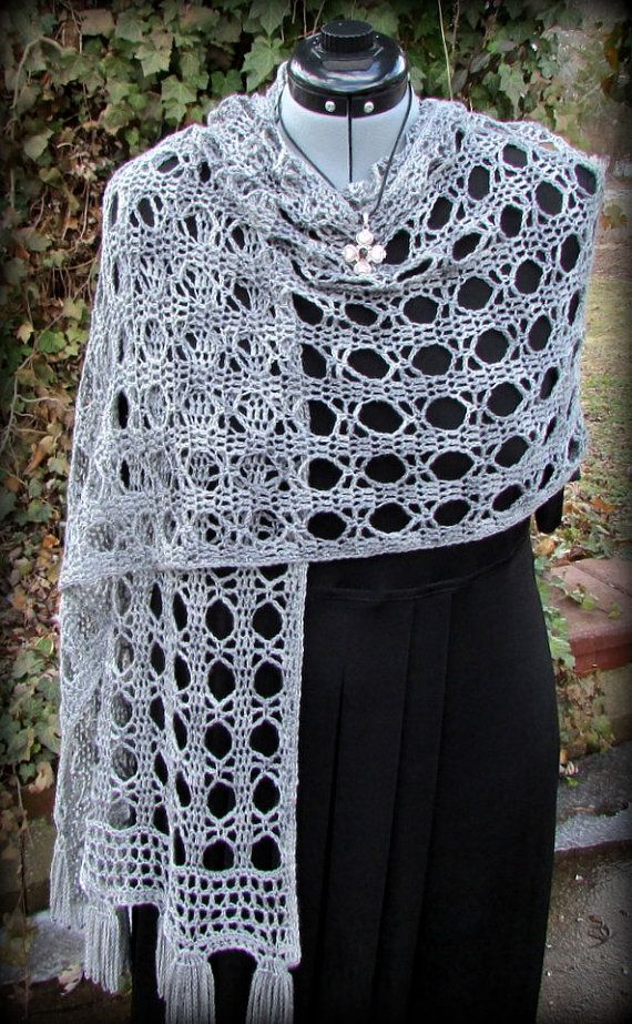 Crochet Lace Shawl Tutorial Free Pattern Pinterest Diagram Shawlette
