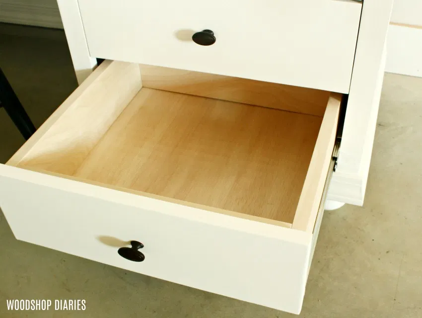 How To Build Drawers A Complete Guide To Drawer Making In 2020 Diy Storage Desk Diy Storage Diy Drawers
