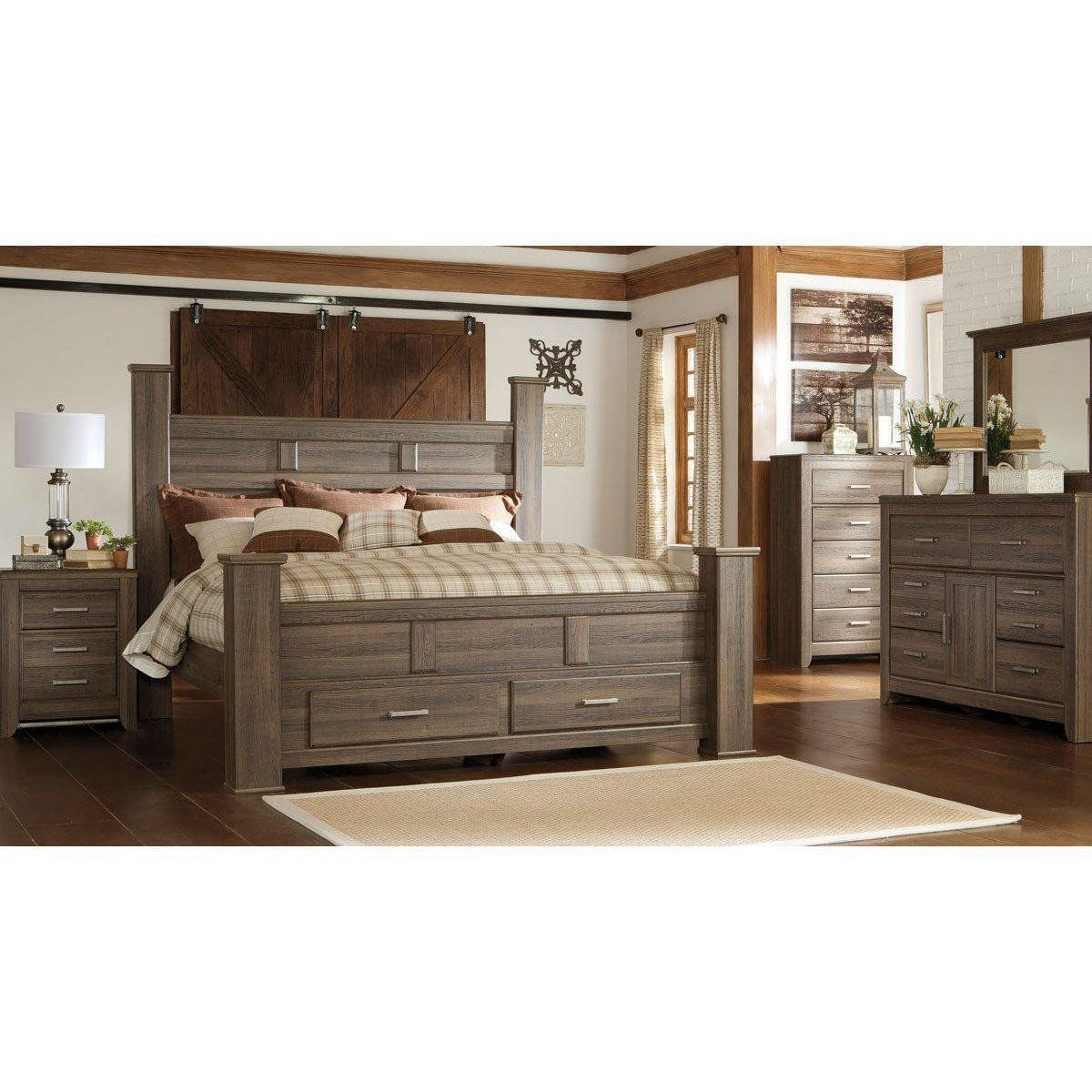 Jennifer Convertibles Bedroom Set Jaxson Storage Bedroom Set in
