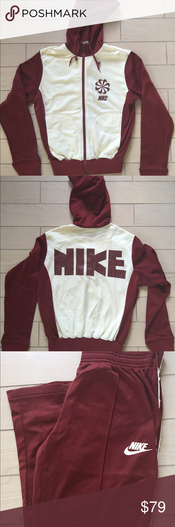 Nike Women s Limited Edition Vintage Tracksuit New