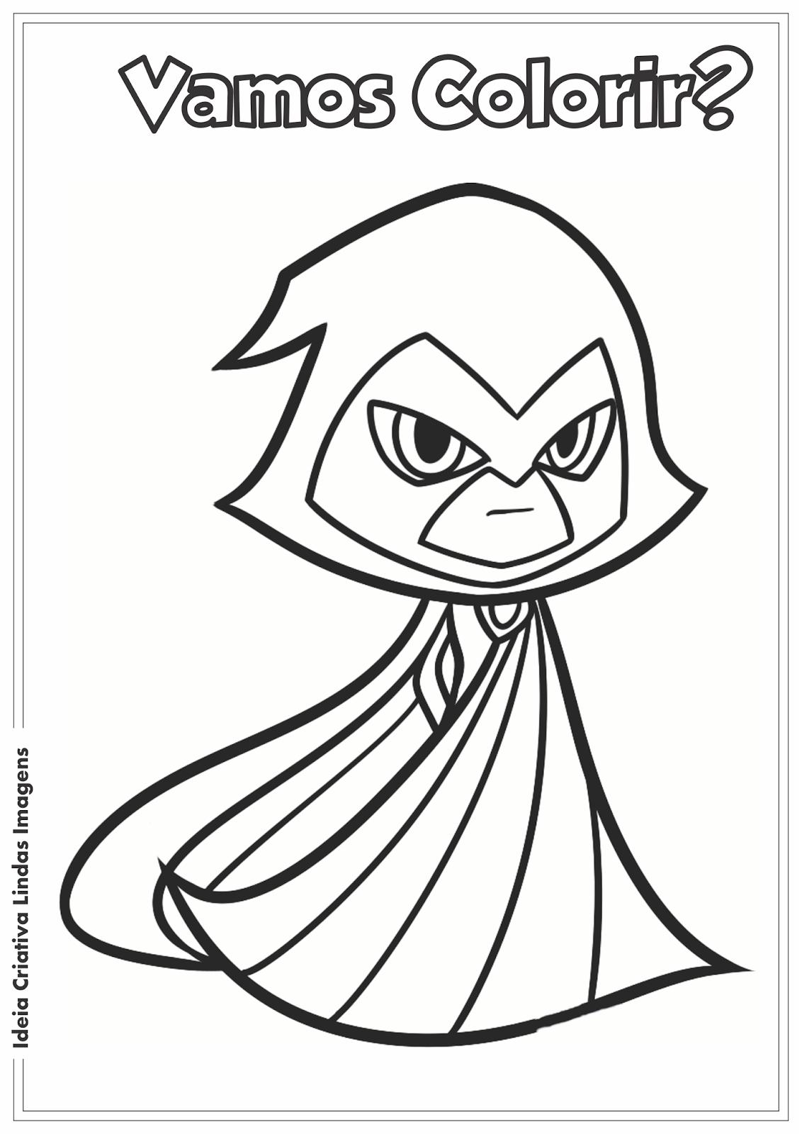 Desenho Pampekids Net Desenhos Do Jovens Titans Paginas Para