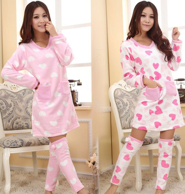 warm sexy pajamas