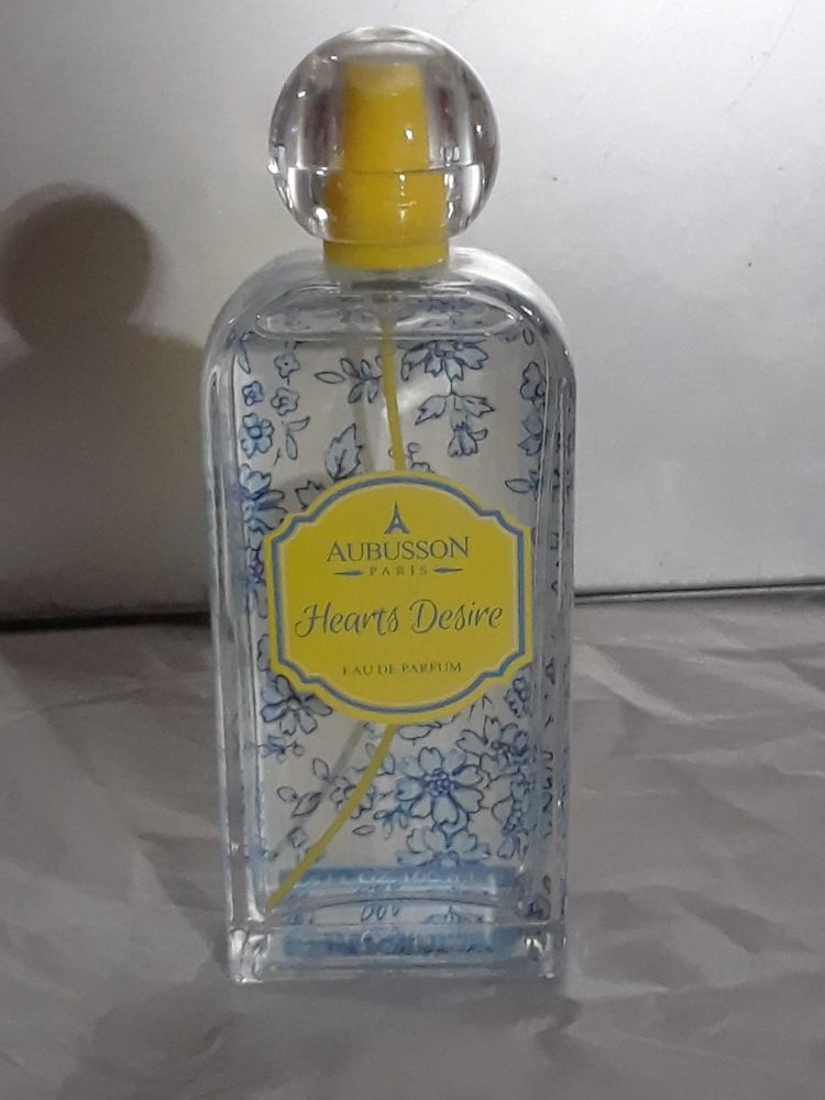 f70c59d5 Aubusson hearts desire Eau de Parfum 3.4 oz Spray used but full DISCONTINUED
