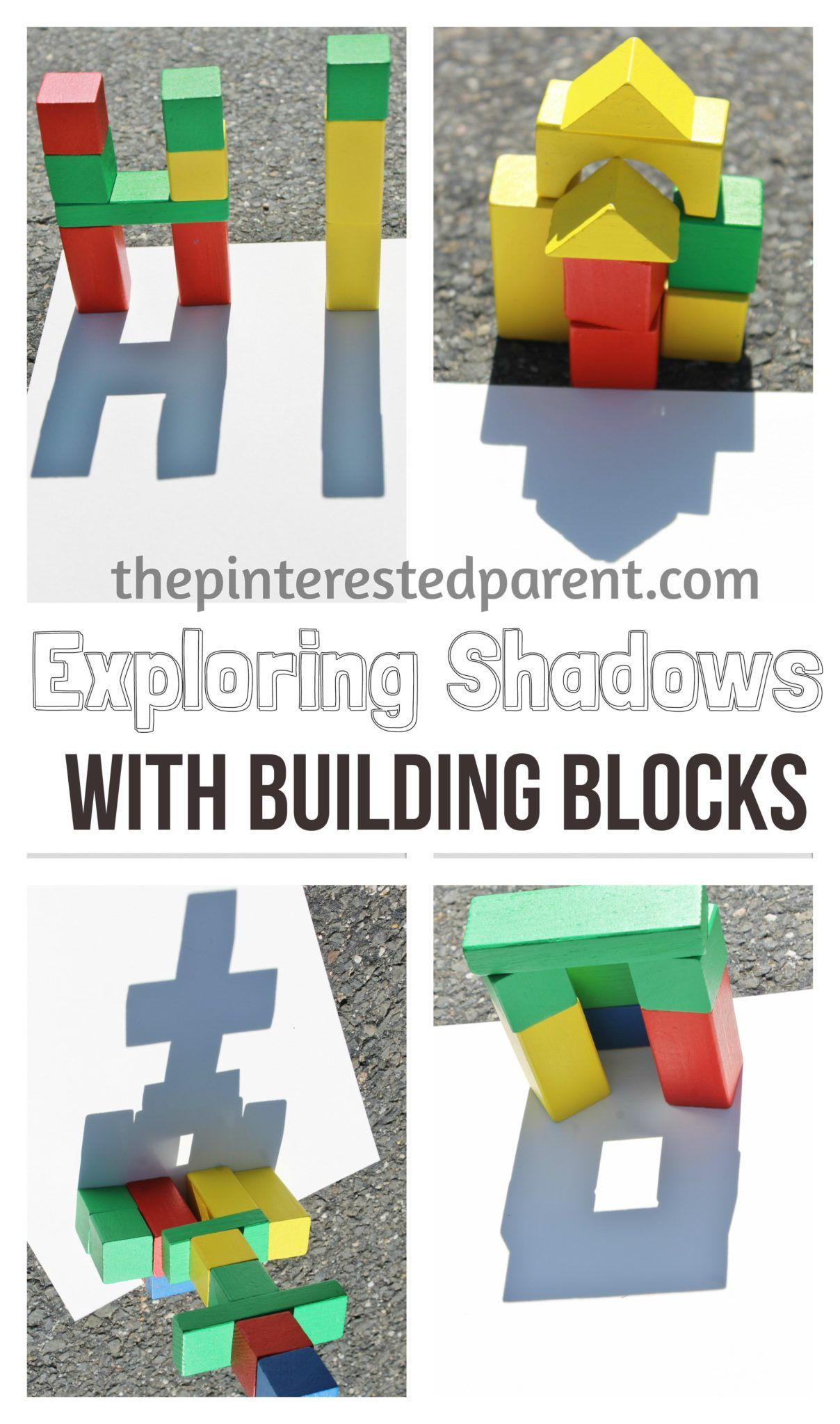 Exploring Shadow Light With Building Blocks This Is A