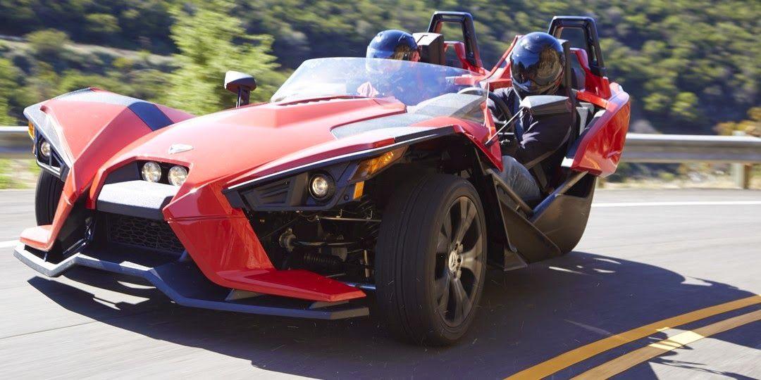 Part Car, Part Motorcycle, Polaris Slingshot Is The Inverted Trike Every  Kid Dreams Of Good Looking