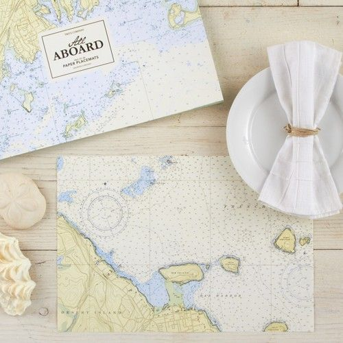 Nautical Paper Placemats