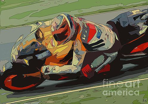 Pablo Franchi - Art, Prints, Posters, Home Decor, Greeting Cards, and Apparel #giftforhim #menscave #carartprint #officedecor #motorcyclesart #christmasgift #personalizedgift