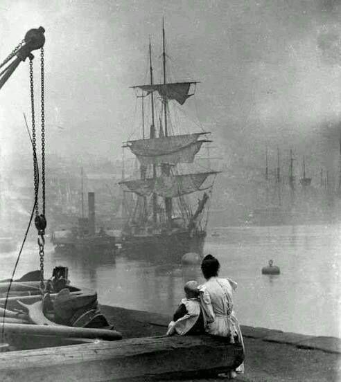 Thames River 1880s