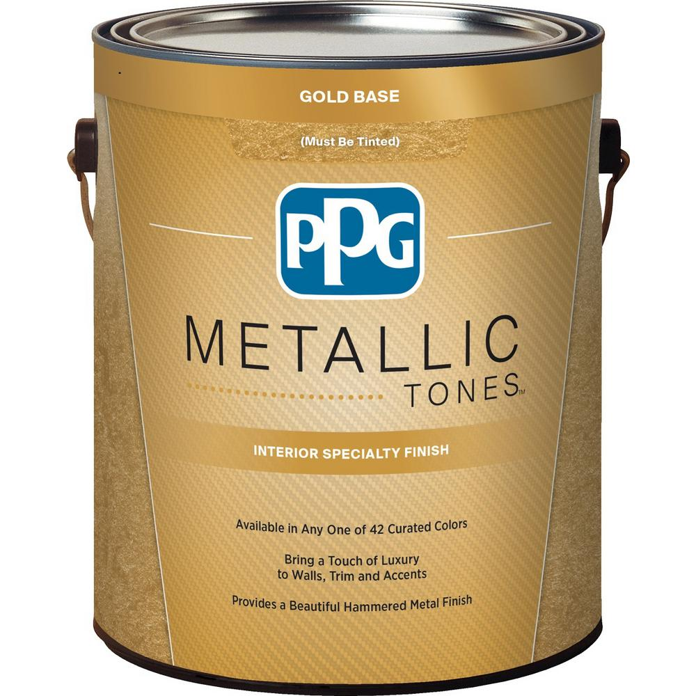 PPG METALLIC TONES 1 gal. Gold Metallic Interior Specialty Finish ...
