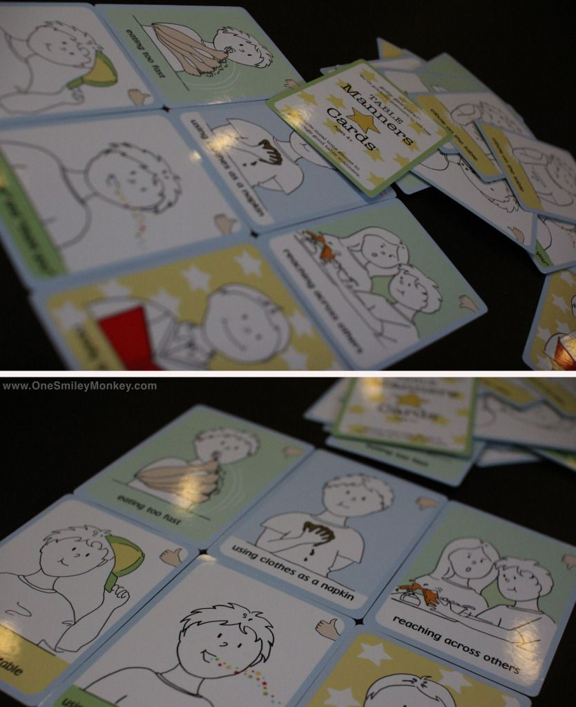 Golly Gee-pers!: Table Manners Cards Review {Giveaway ...