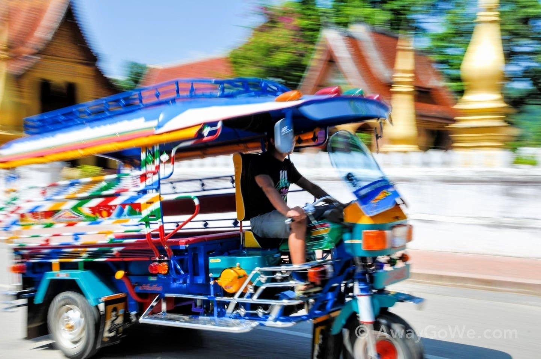 Visit Laos Colorful Tuk Tuk Laos Asia Destinations Travel