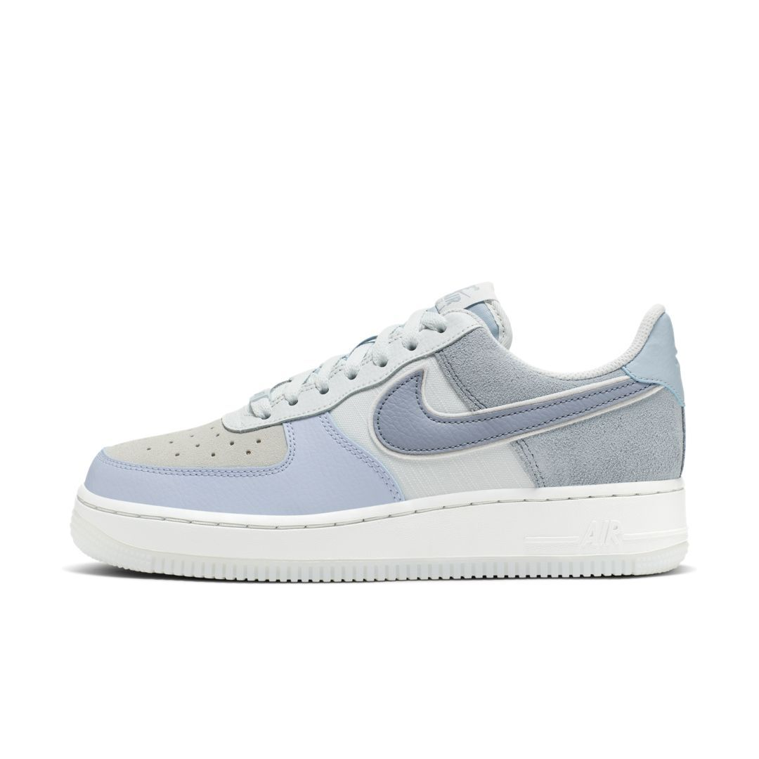 Nike Air Force 1 all white low 'Baby Blue' Premium Edition