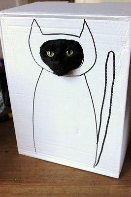 painel para foto de gatos