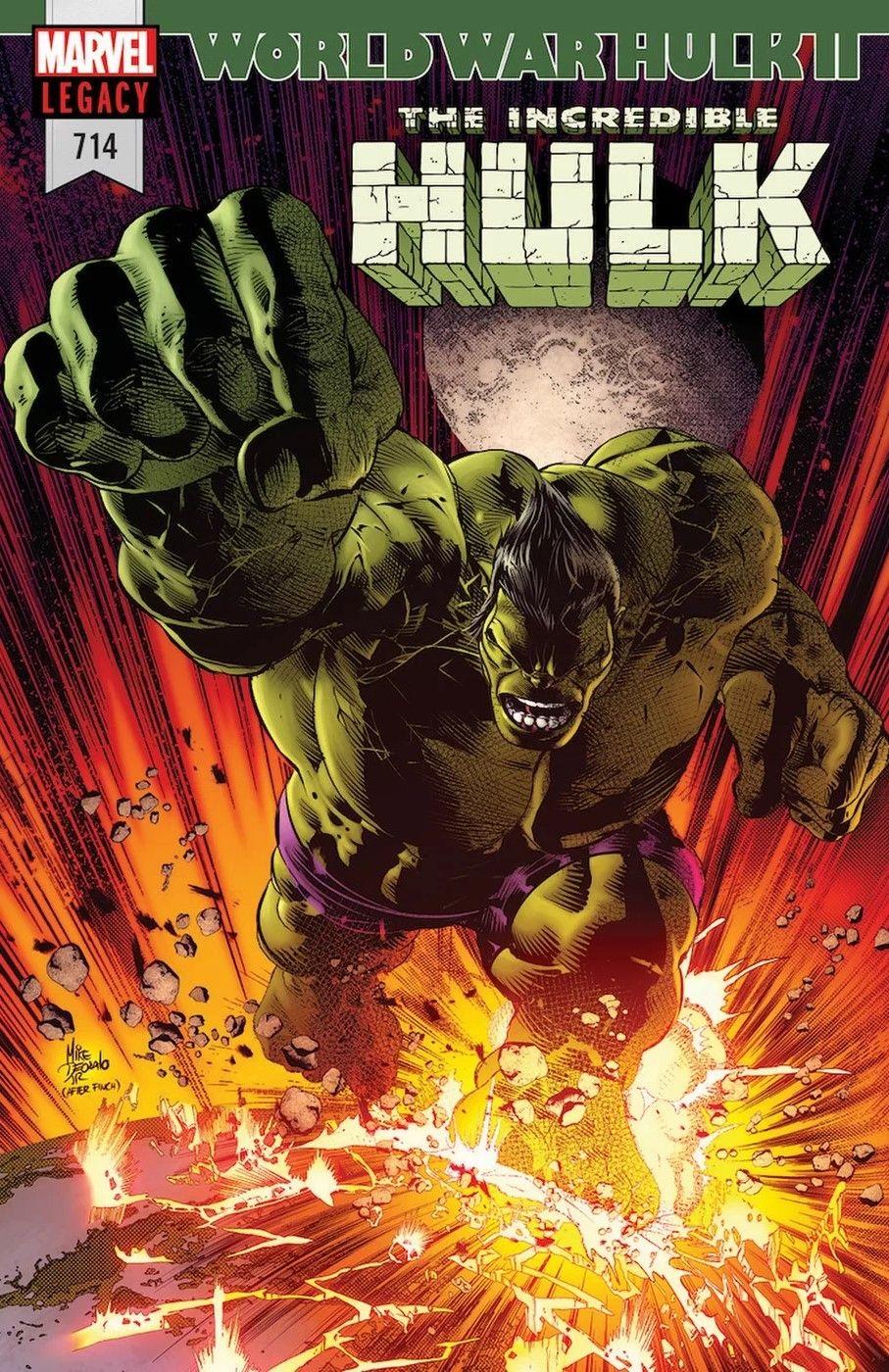 The Incredible Hulk #714 - World War Hulk 2 Part One