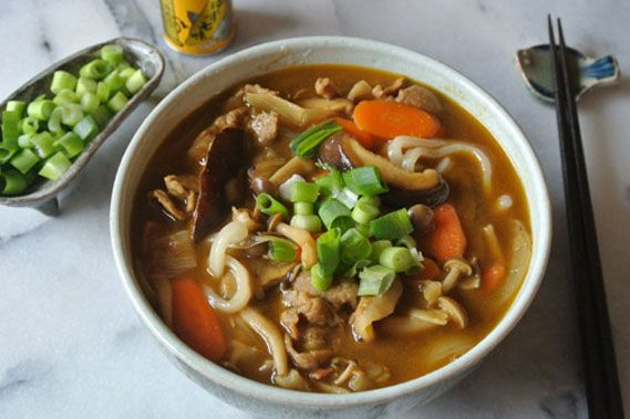 Japanese American Dishes Yum Okinawan Cowgirl Curry Udon Soup Recipes Japanese Curry