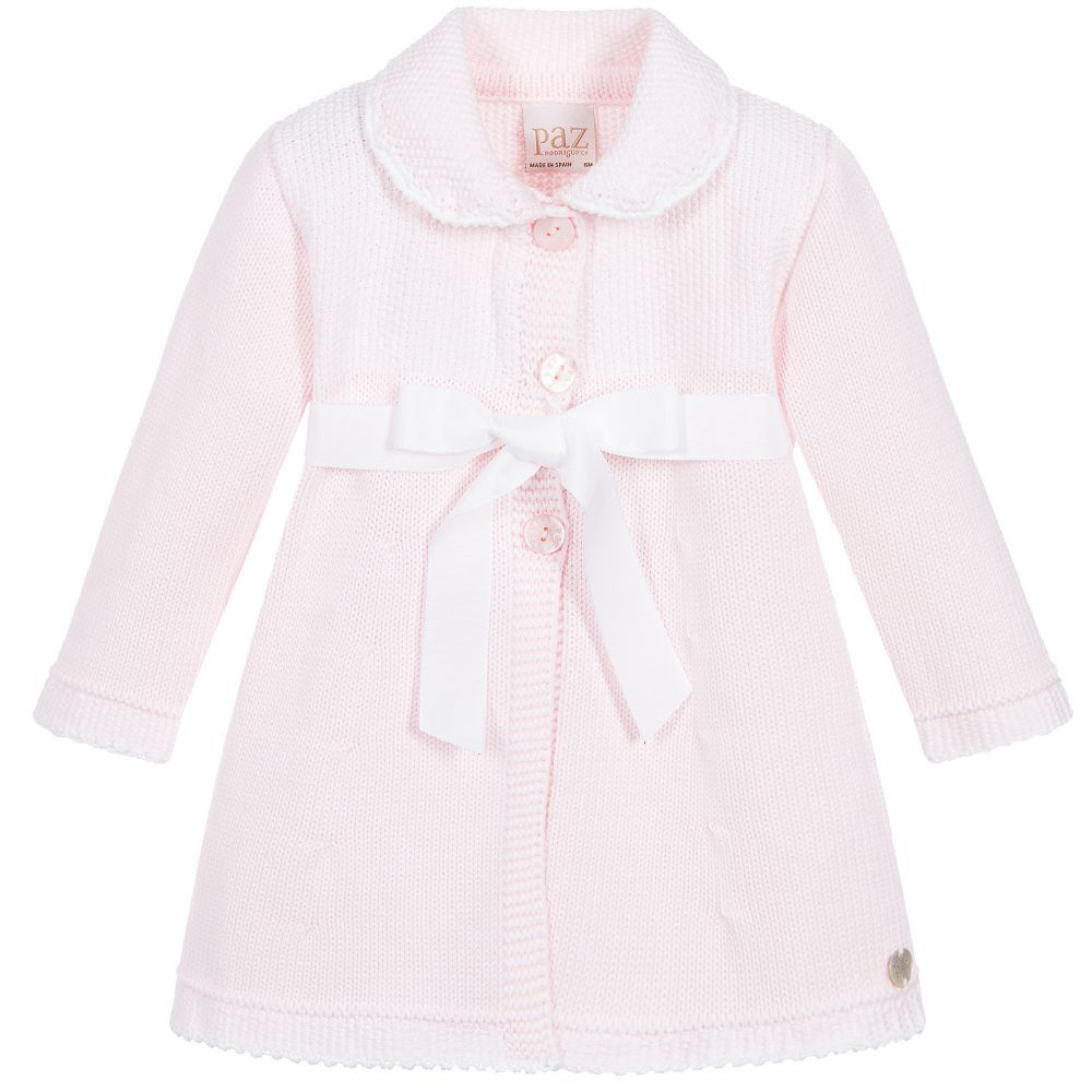 9ff60d338 Pretty pale pink pram coat by Paz Rodriguez