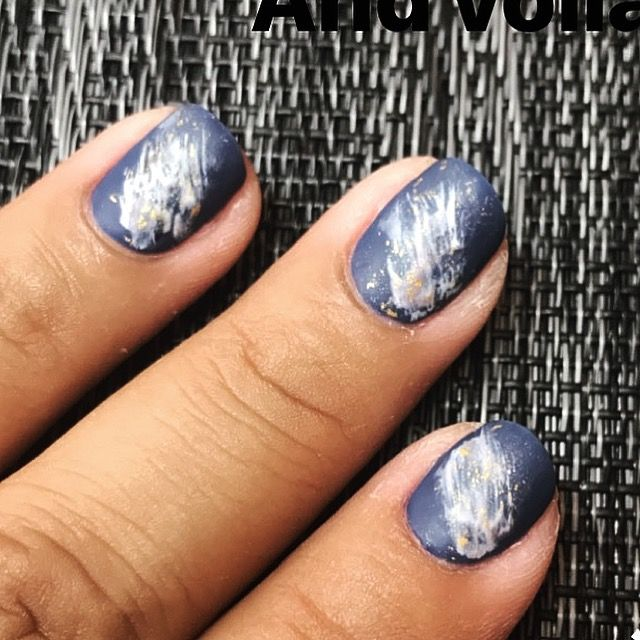Cnd Matte Topcoat Over Abstract Nail Art By Diane Diaz Cnd Shellac