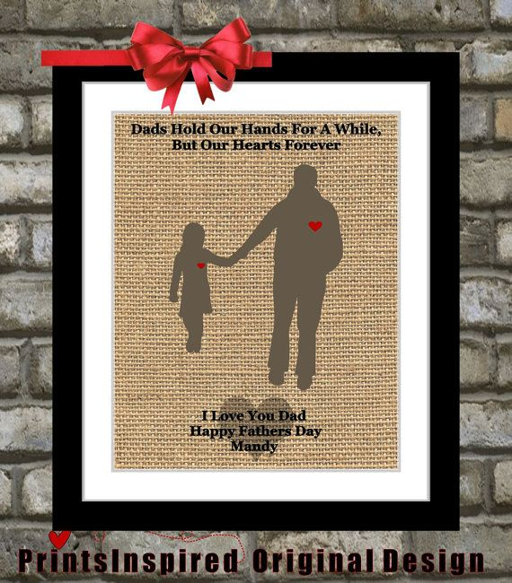 Gifts For Dad Daddy From Daughter Art Customfathers Daygift Birthdaygiftfordad 1899