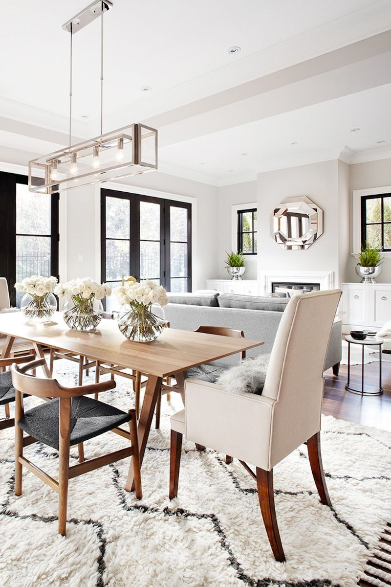 5 ways to make your dining room look more expensive the chriselle factor dining decordining table - Traditional Dining Table Centerpiece