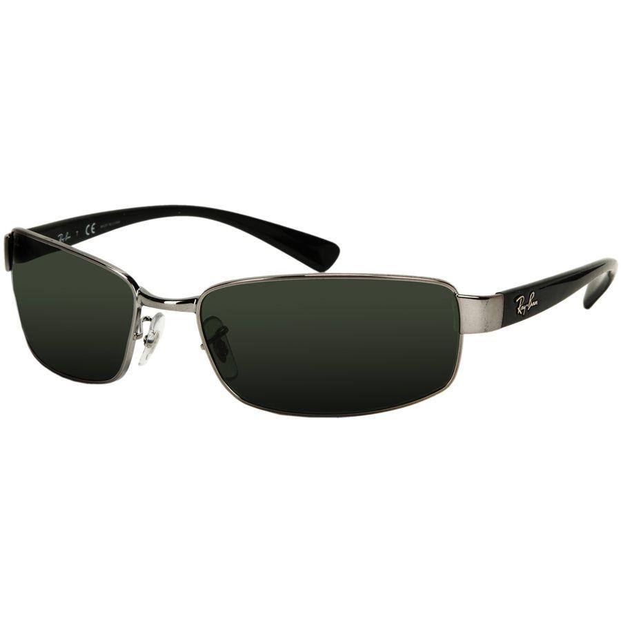 02b59274f3f Ray-Ban Metal Rectangle Wrap Sunglasses  VonMaur