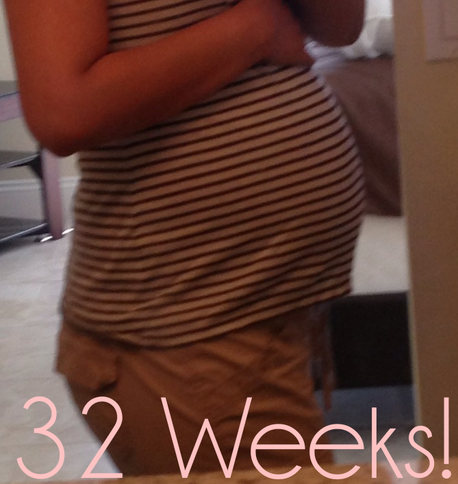 Living For His Glory: 32 Week Bumpdate!