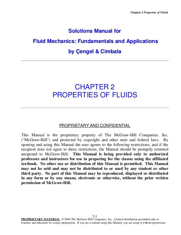 chapter 2 properties of fluids solutions manual for fluid mechanics rh pinterest com viscous fluid flow frank white solution manual pdf viscous fluid flow white 2nd edition solution manual