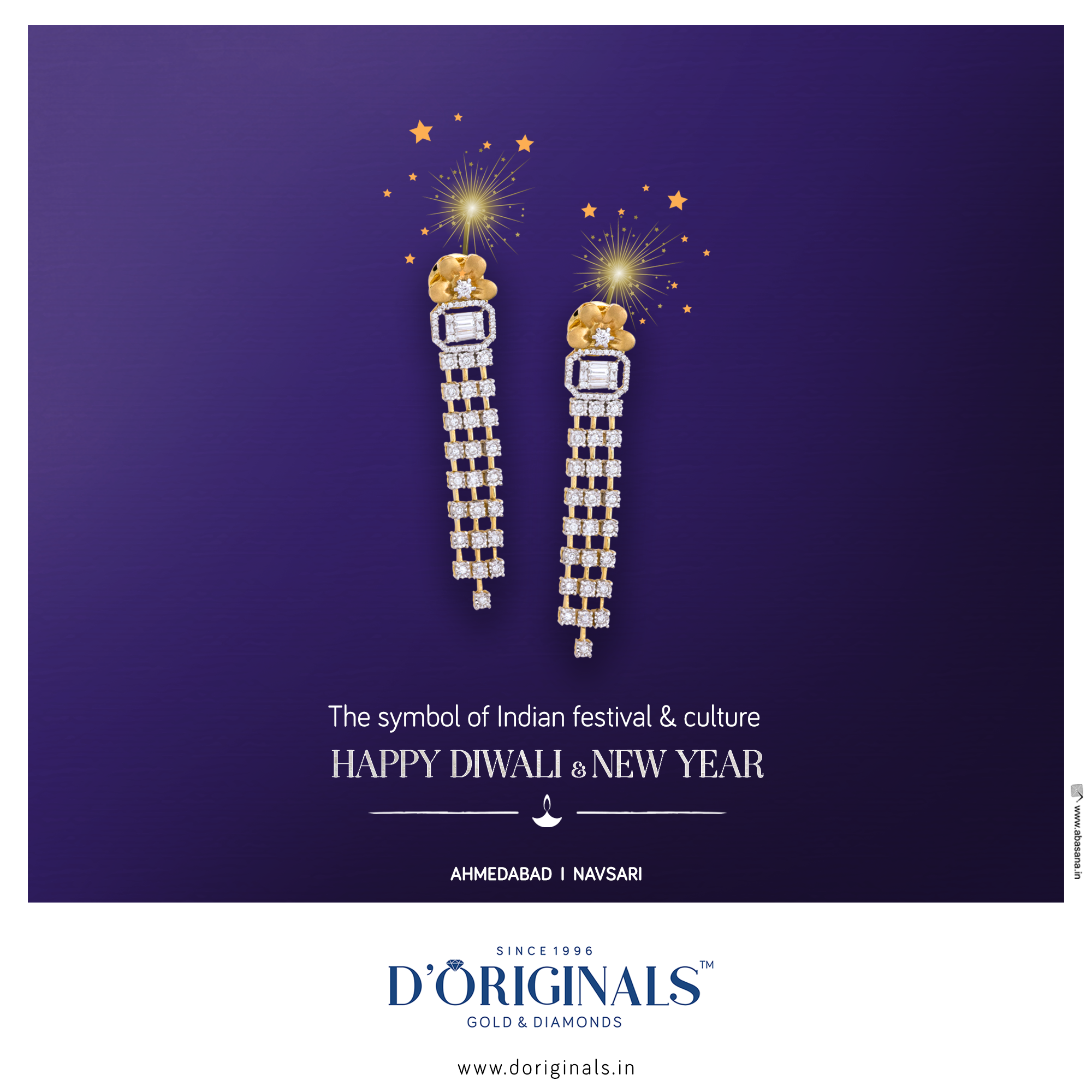 D'ORIGINALS FAMILY WISHES YOU HAPPY DIWALI AND NEW YEAR