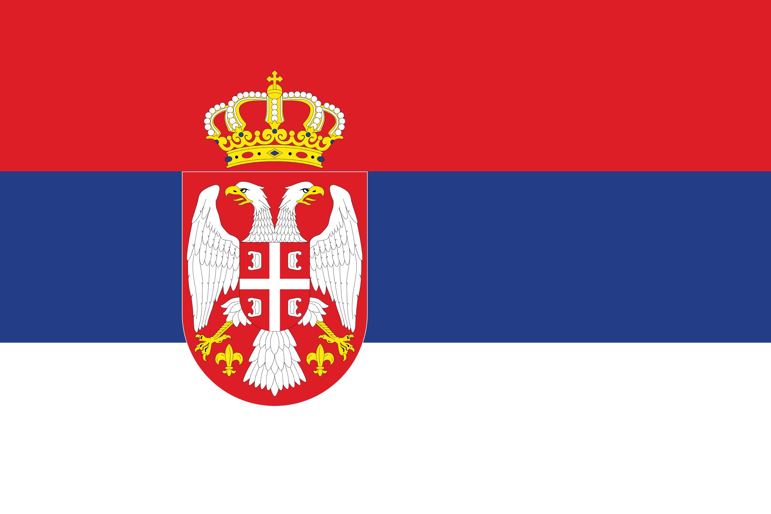 Serbia | Country Flags | Pinterest | Banderin y La bandera