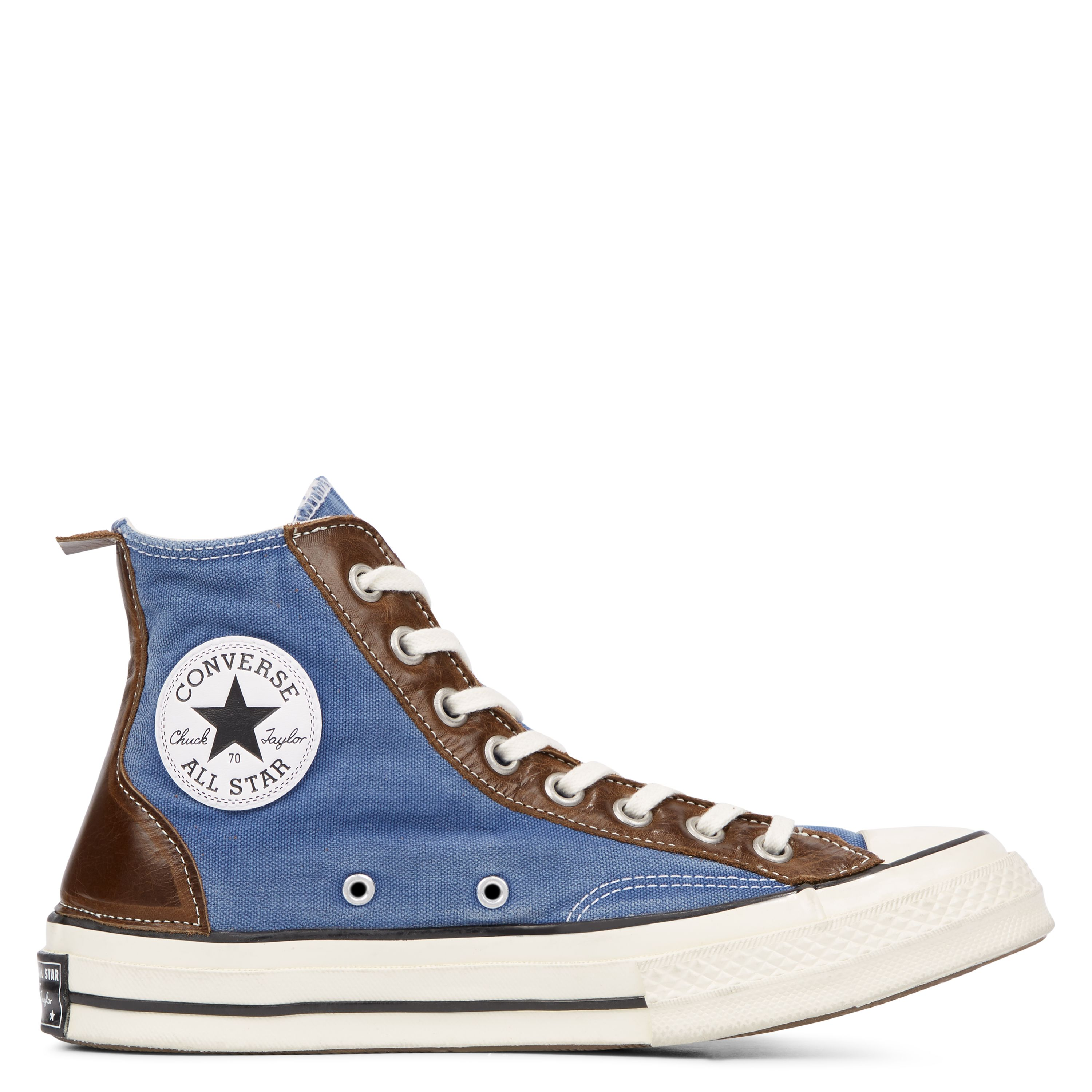 converse all star bleu en cuir