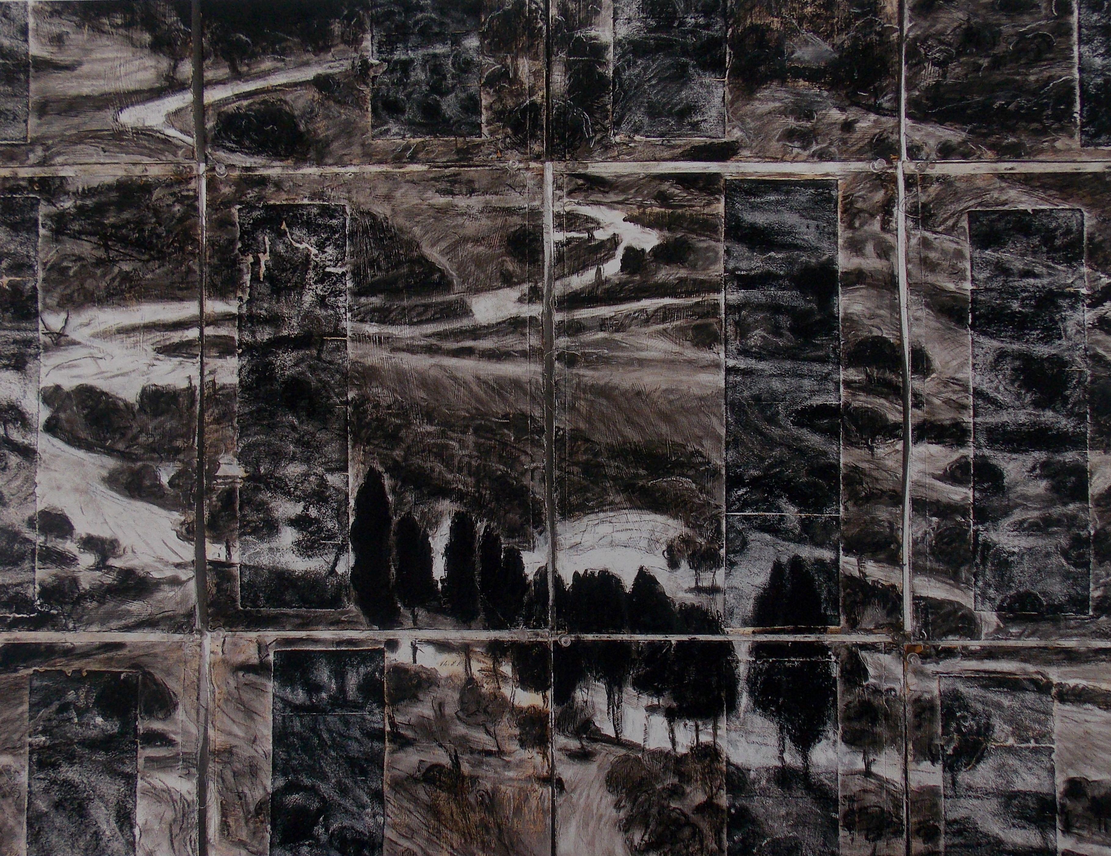 Peter Krausz, Le chant de la terre, 2004. Estampe rehaussée au pastel. 61 x 76 cm. 13/50. Don de Jacques-Gabriel Blais. Valeur marchande : 1500 $. Prix de départ : 750 $. Plus de détails : http://www.museelaurentides.ca/encan-2016-peter-krausz/
