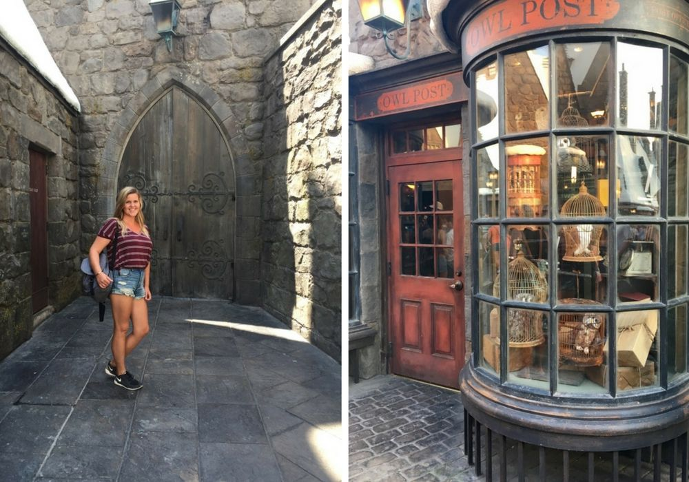 Wizarding World of Harry Potter in Universal Studios Hollywood, California