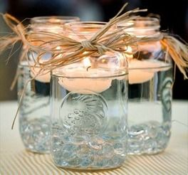 Donation jars for Breast Cancer Awareness Month-But with pink jars!