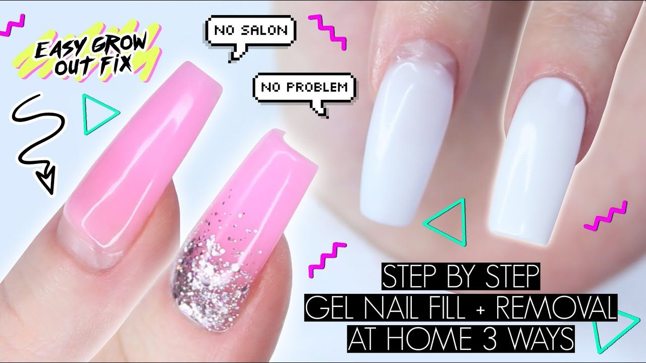 Diy Gel Nail Fill Removal At Home The Beauty Vault Youtube Gel Nail Fill Gel Nails Diy Gel Nail Removal