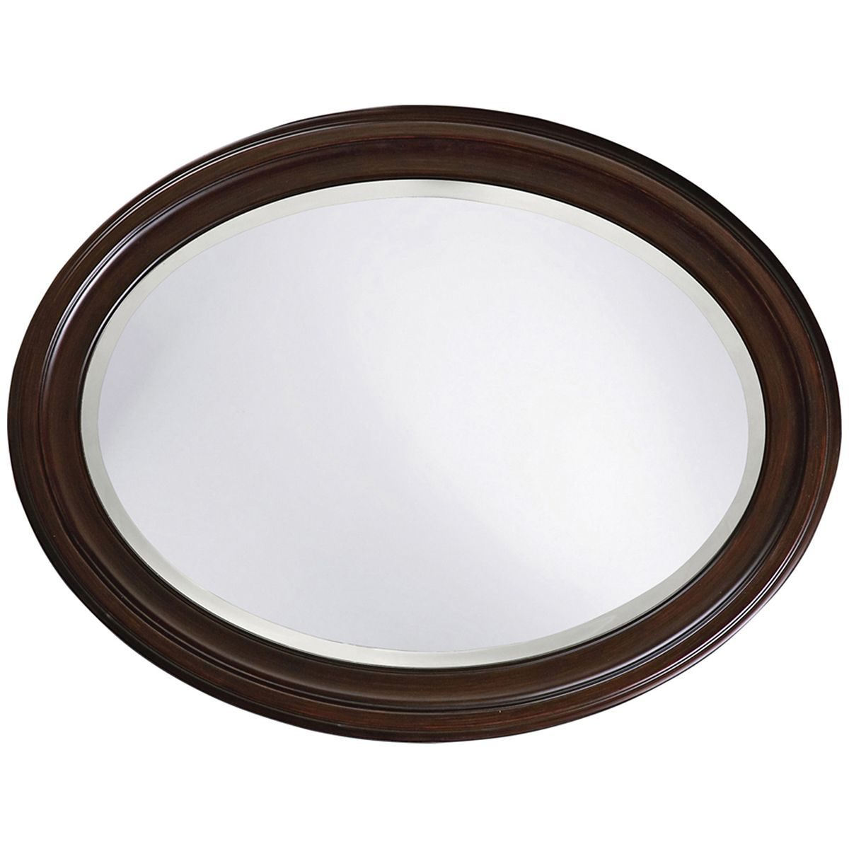 Howard Elliott George Chocolate Brown Mirror 40110
