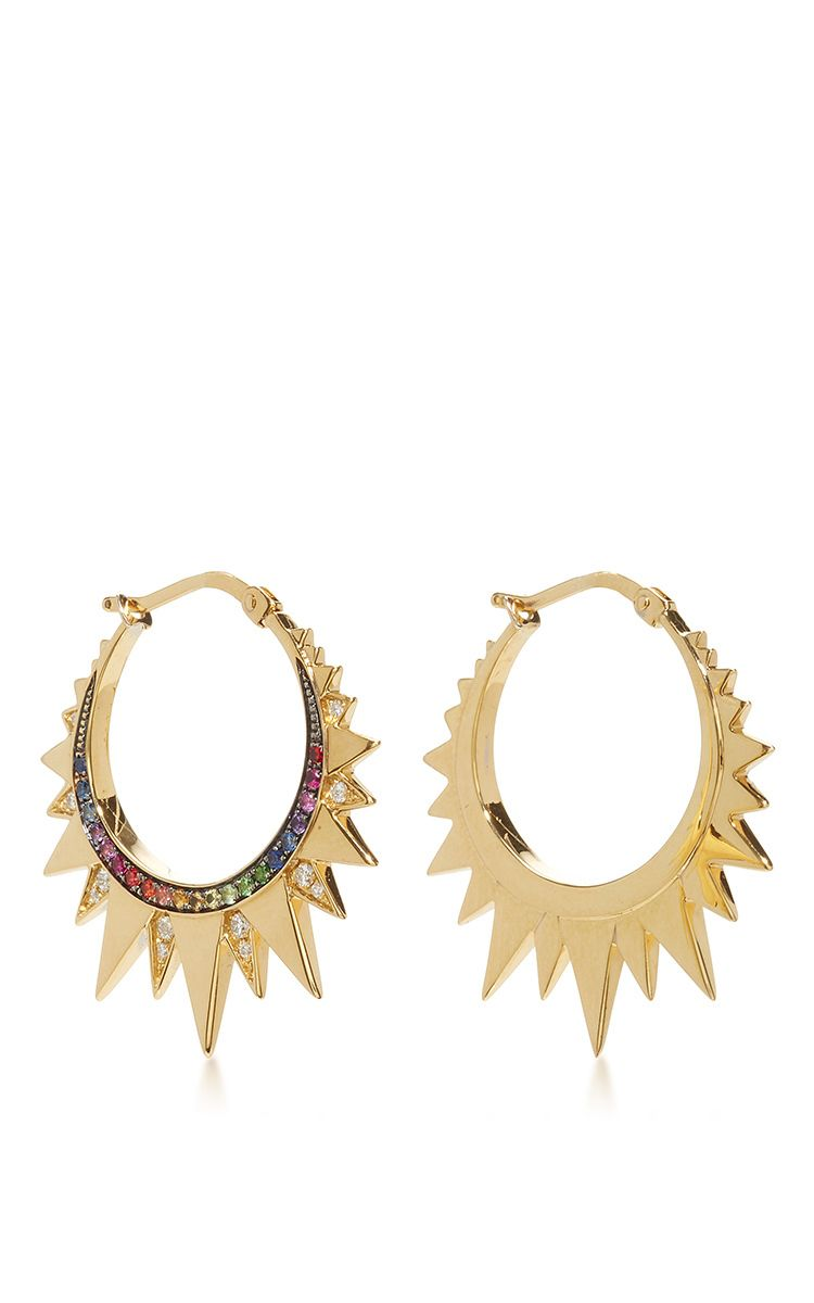 Rainbow Mini Hoops by Venyx | Moda Operandi