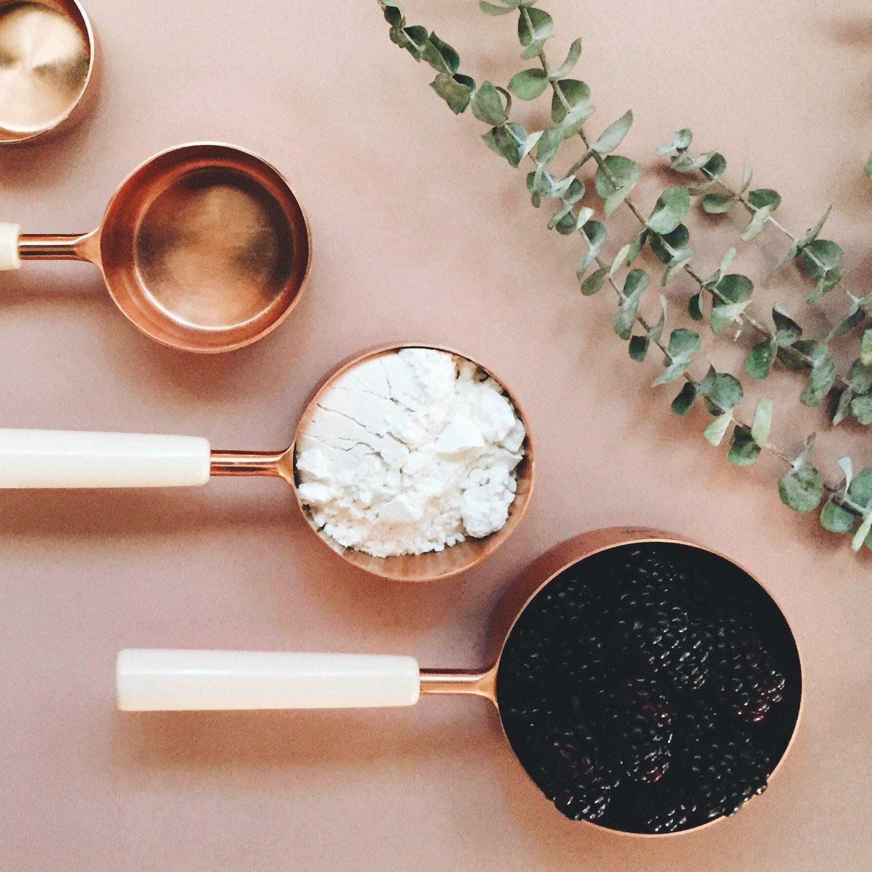 Copper Measuring Cups Set Of 4 Shoppigment Pigmentwishlist