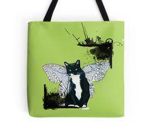 http://www.redbubble.com/people/damnmurphy/works/14794177-flying-cat?p=tote-bag  Also on t-shirt, mug, travel mug, throw pillow, etc.