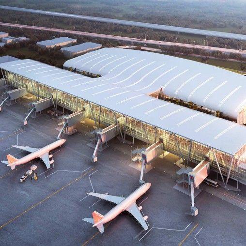 Kamraj Domestic Terminal At Chennai International Airport Projects Gensler Chennai International Airport International Design Competition Airport Design