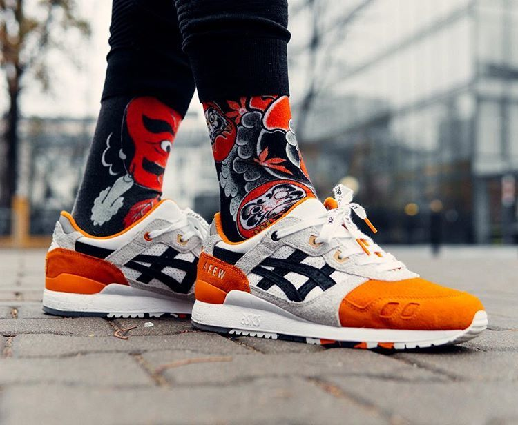 "the latest 21237 8e04c Afew x Beams x Asics Gel Lyte Iii ""Koi"" 