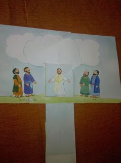 Lesson 13 Jesus Returns to Heaven Jesus returns to Heaven 2&3 year olds; 4&5 year olds; K-1
