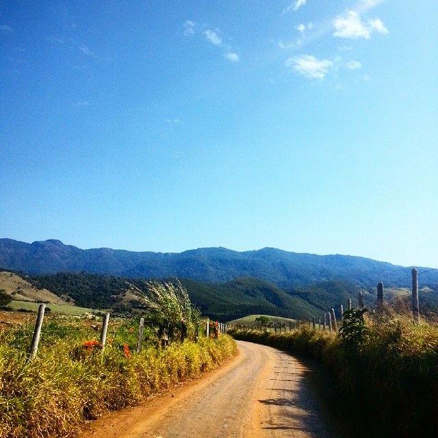 Beleza natural no caminho para o Capril do Bosque.