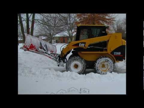 Huge Snow Plows And Trucks Make Quick Work Of Clearing