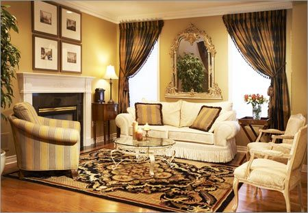 Living Room Window Treatment Ideas | Living Room Decoration,Wall Art ...