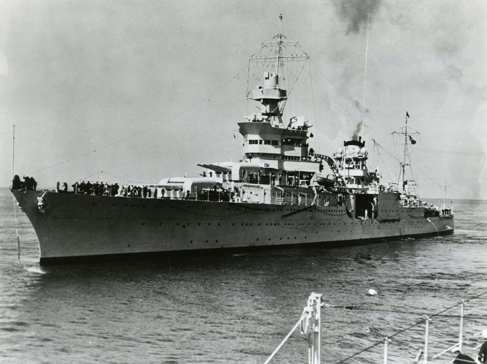 July 30 1945 The Uss Indianapolis Is Sunk By A Japanese I 58