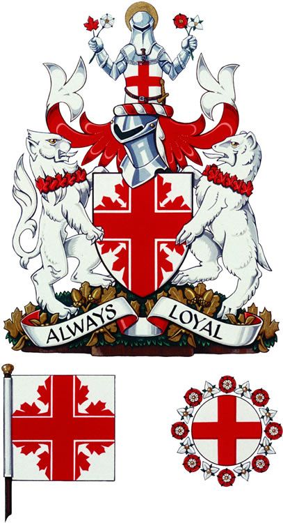 The St Georges Society Of Toronto Was Granted Its Coat Of Arms By